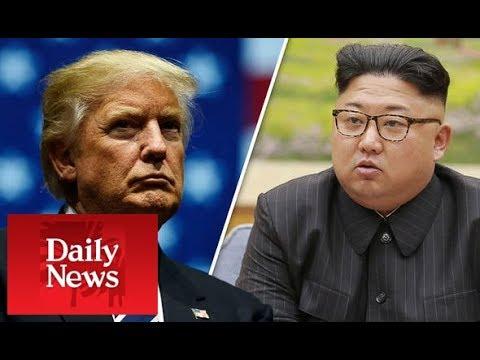 North Korea warns US naval blockade is 'hideous war CRIMINAL act' - DAILY NEWS