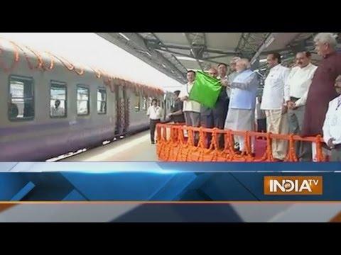 Live: PM Narendra Modi inaugurates the Udhampur-Katra rail link