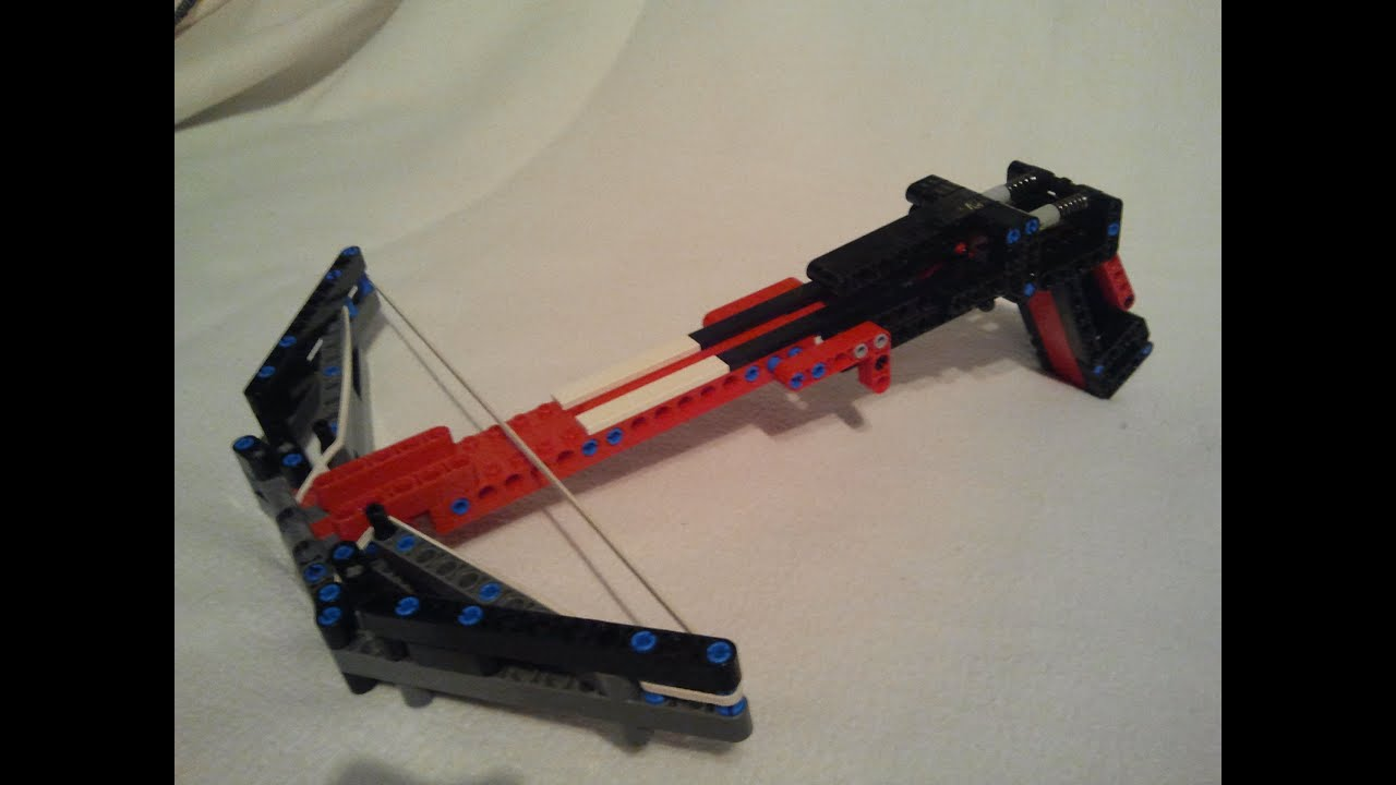 lego gun instructions working