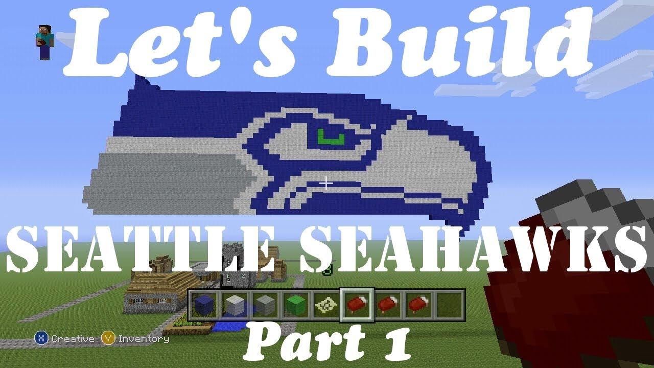 Minecraft Let's Build Logos