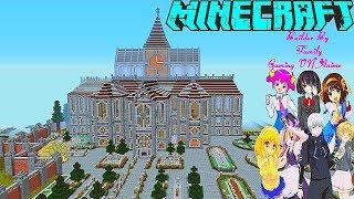 Minecraft - Biệt thự gia đình Anime (Builder By Family Gaming VN Anime)