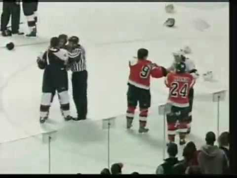 THE BIGGEST FIGHT IN NHL HISTORY !!!!!!!!!!!!!!
