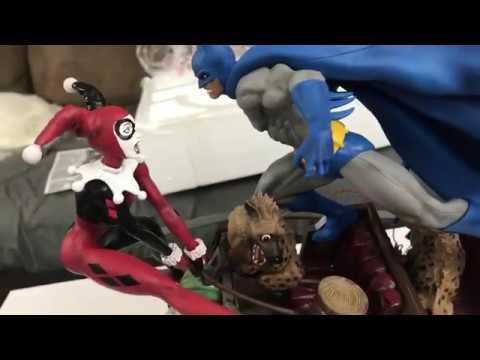 DC Collectibles Quality Control problem... Unboxing Batman Vs Harley Battle statue