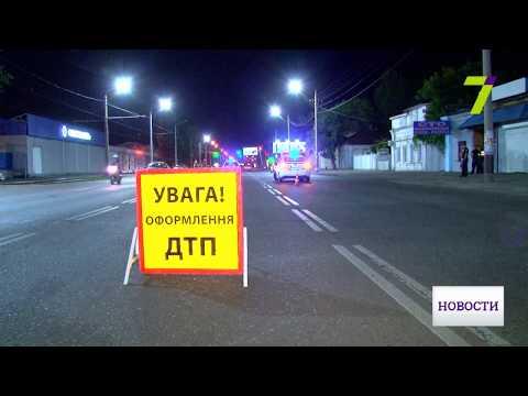 Водитель Audi, сбивший мужчину ночью, возможно, был пьян (видео с места происшествия)