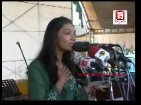 Upeksha Swarnamali addresses political rally
