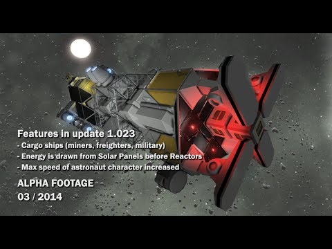 Space Engineers Cargo Ships Energy Is Drawn From Solar