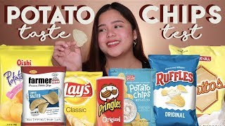 Potato Chips Taste Test | Merienda Time