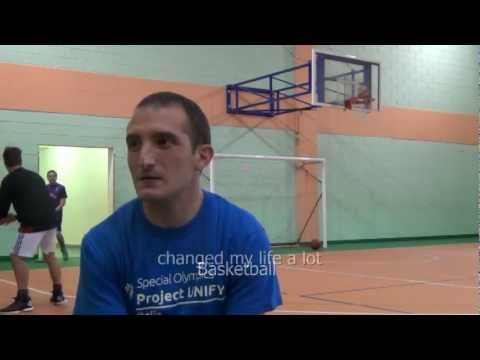 NBA CARES SPECIAL OLYMPICS UNIFIED SPORTS BASKETBALL GAMES ITALY NOMINATION