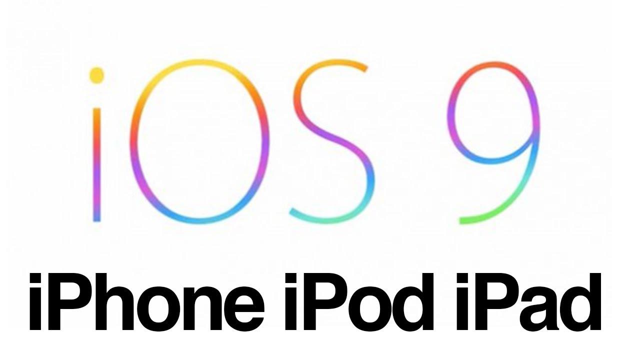 Ipod Ios 9 Ios 9 Para Iphone 4 Iphone 3gs