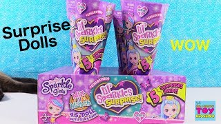 Funville Sparkle Girlz Lil Sparkles Surprise Blind Bag Doll Opening | PSToyReviews