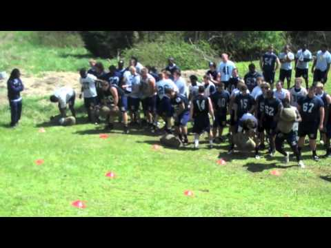 On the hill of big bertha, the Averett University football team takes on their final Sandbag Challenge of the spring in 2011. Created by Marcus Klusacek and ...