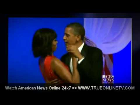 jennifer hudson inauguration   Michelle Obama, President Obama Dance At Inaugural Ball 6