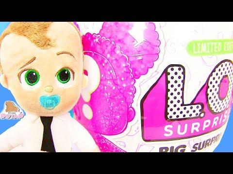 Игрушки для Девочек #Куклы ЛОЛ LOL Dolls Распаковка Игрушек c Boss Baby Босс Молокосос #Сюрприз #ad