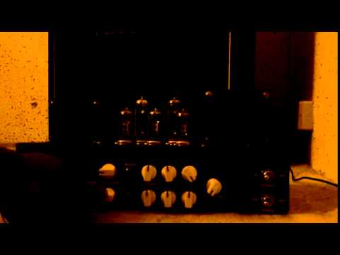 15W Tube Guitar Amp test