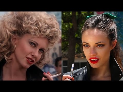 Grease vs Grease Parody shot-for-shot comparison