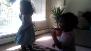 Romans - my girls dancing to a malayalam song from the movie Romans by the  VIDWANS