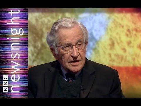 Noam Chomsky: still going strong at 85  - Newsnight