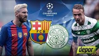 Barcelona vs Celtic (7-0) All Goals and Highlights Champions League 2016