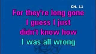 pink - who knew - karaoke
