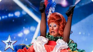 Drag artist Mister Sister thinks she Can Can get four yeses   Britain's Got Talent 2015