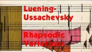 Luening-Ussachevsky: Rhapsodic Variations for Tape Recorder and Orchestra (1954)
