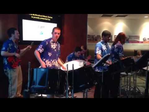 MTSU Steel Drum Band at Nashville International Airport
