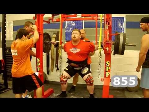 Henry Thomason Powerlifting Squat Training 8/4/13 - 8w USPA Mr. Olympia Image 1