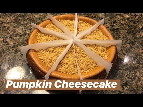 How to Make: Pumpkin Cheesecake