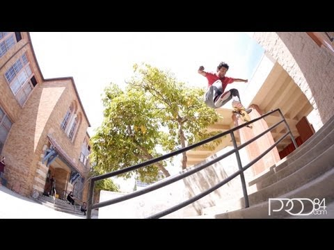 Paul Rodriguez Uni Rail Session 2013