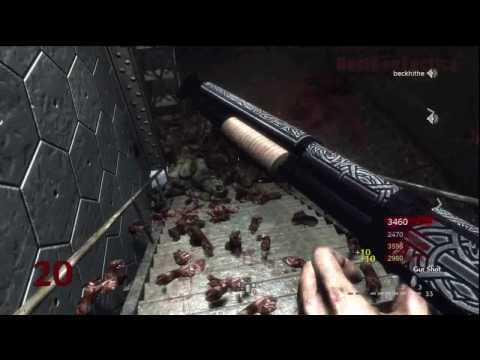 Call of Duty: World at War Nazi Zombies Der Riese 4-Player Strategy (Rounds 18-20)