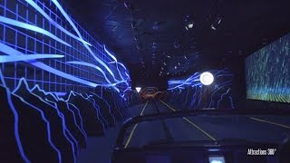 [4K] Test Track 2.0 Ride - Futuristic TRON-Like Ride - EpCot - Walt Disney World