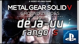 Metal Gear Solid: Ground Zeroes - Misión: Déjà-vu en Rango S (PlayStation)