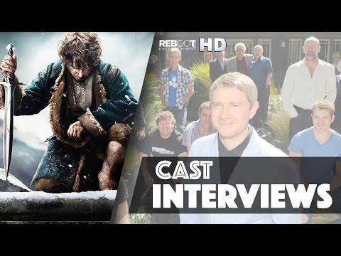 The Hobbit: The Battle Of The Five Armies – Peter Jackson & Cast Interviews