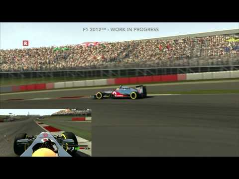 Codemasters F1 2012 – Circuit of the Americas Replay Cameras