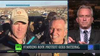 "Robert Kennedy Jr, ""Trump Has A $2 Million Stake in the Dakota Pipeline"""