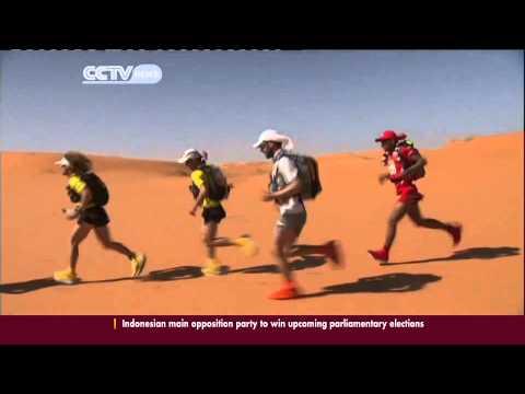 Morocco Desert Marathon Begins
