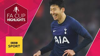 Southampton and Spurs play out entertaining draw | FA Cup Fourth Round | BBC Sport