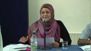 Zara Faris debunks Feminism at London debate