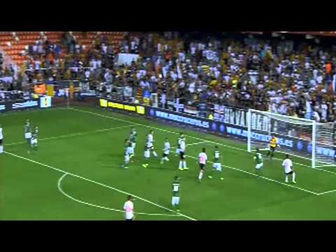 Valencia FC vs St Gallen (5 - 1) All Goals - UEFA Europa League 2013 - 2014 (24-10-2013)