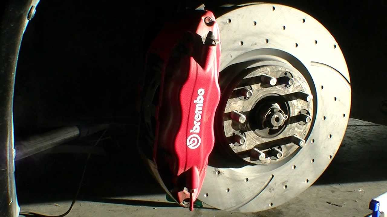 Restore Brembo Calipers Paint New