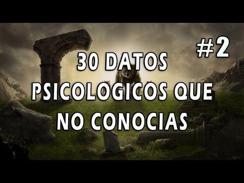 (II) 30 Datos Psicológicos Que No Conocías | Psicología