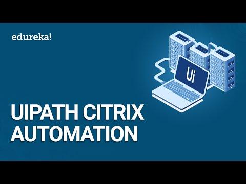 UiPath Citrix Automation | Image and Text Automation in UiPath | UiPath Training | Edureka