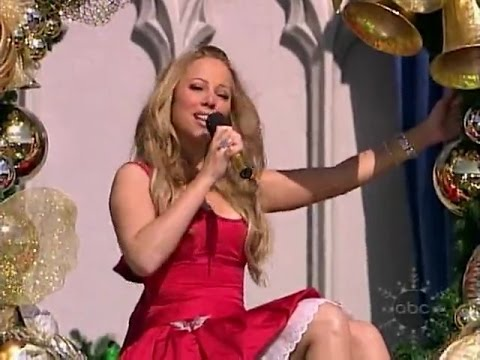 Mariah Carey - All I Want For Christmas Is You (Live on Disney 2004)