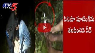 పోలీసులపై దాడిచేసిన ఎర్రచందనం స్మగ్లర్లు.! | Police Arrests Sandalwood Mafia | Tirupati