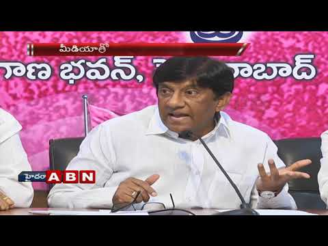 TRS MP Vinod kumar speaks to Media over Early-Polls and Congress comments