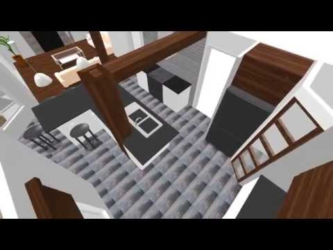 Cuisine sweet home 3d youtube for Cuisine pour sweet home 3d