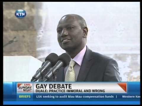 Barack Obama endorses gayism as Uhuru and Ruto claim Kenya is a Christian country