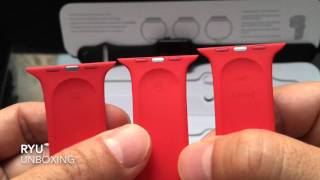Apple Watch Sport 42mm (Product) Red Band Unboxing