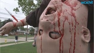 Too Realistic' Holloween Decorations Taken Down