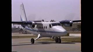 Impressive Twin Otter Short Takeoff Roll